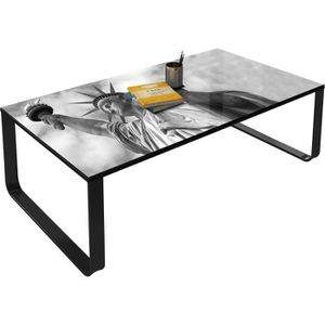 Meuble new york achat vente meuble new york pas cher cdiscount - Table basse new york pas cher ...