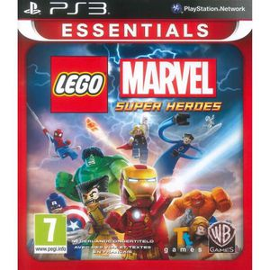 JEU PS3 LEGO Marvel Superheroes (ESSENTIALS) : Playstation