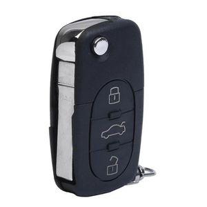 coque de cle telecommande voiture 3 boutons pour audi a2. Black Bedroom Furniture Sets. Home Design Ideas