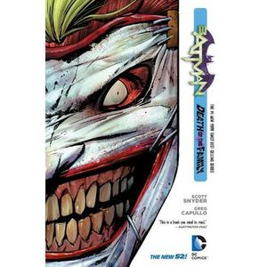 MANGA Batman Vol. 3: Death of the Family (The New 52)