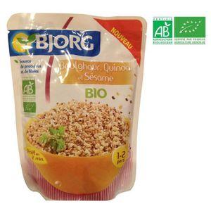 CÉRÉALES PETIT DEJ  BJORG Boulghour Quinoa sésame Bio 250g