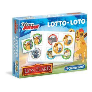 LOTO - BINGO CLEMENTONI - La Garde du Roi Lion - Jeu de Loto