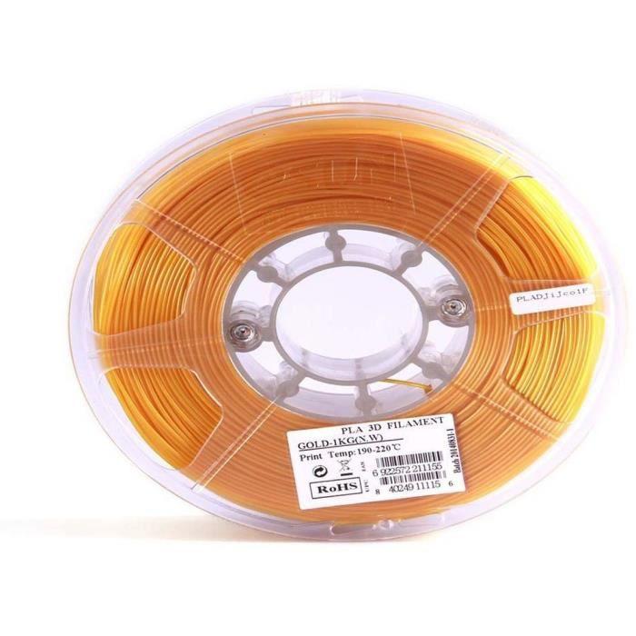 ESUN Filament pour Imprimante 3D PLA ESUN - Doré - 3 mm - 1kg
