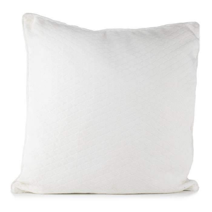 PAVILLON INTERIEUR Coussin Kristen 45x45 cm blanc