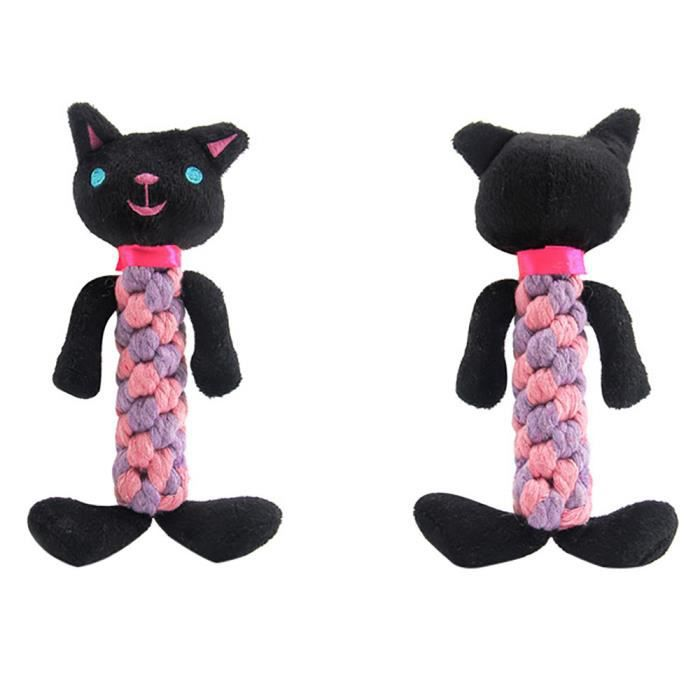Dents De Corde Chien Compagnie Chew Animaux Shaped Grincent Son Peluches@hhy80801002b