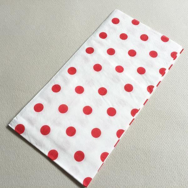 Serviette papier a pois achat vente serviette papier a pois pas cher cdiscount - Serviette de table papier pas cher ...