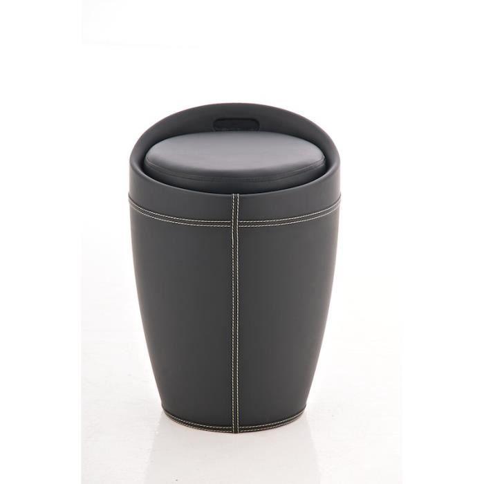 CLP Tabouret ALICE, Hauteur de l'assise 45 cm, 3 couleurs au choix ...