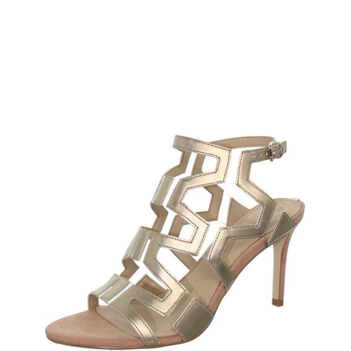 Sandales à talons aiguille Guess ref_guess40811 beige