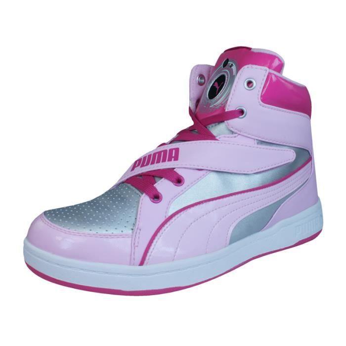 Puma DJ 6S Baskets pour filles - Hi TopsArgent 6 9M9XOuhKz1
