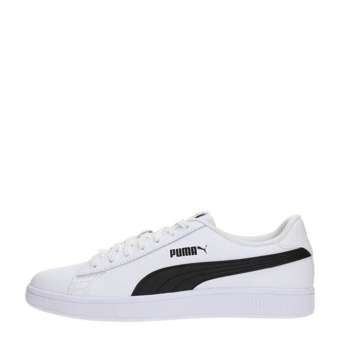 PUMA Sneakers Homme WHITE-BLACK, 43