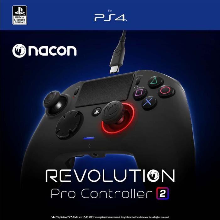 MANETTE JEUX VIDÉO Manette Révolution Pro Controller 2 Nacon pour PS4
