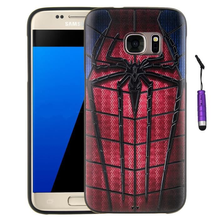 coque samsung s7 spider man