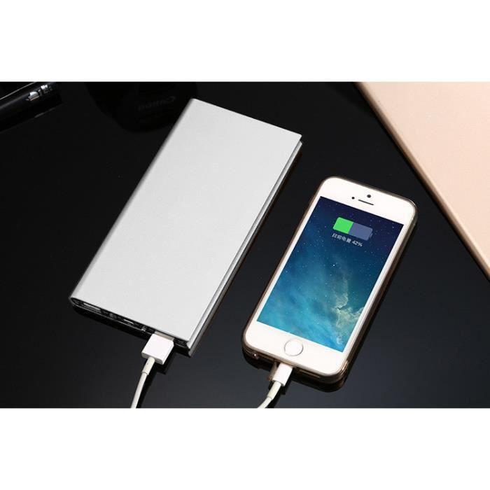 BATTERIE EXTERNE Batterie Externe Plate Pour LENOVO VIBE A PLUS Sma