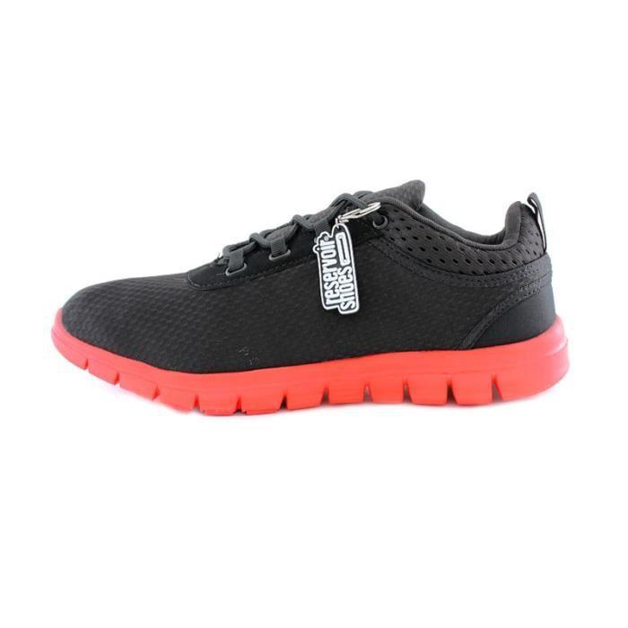 Shoes Dario Noir Basket Rouge R fwqz7z