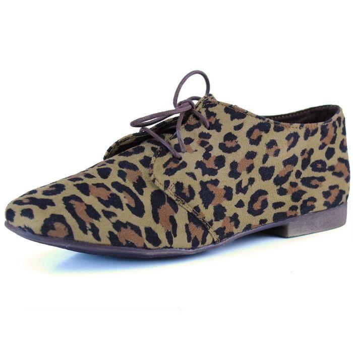 Ballet classique Lace Up plat Mocassins Chaussures Oxford Sneaker J3J0O Taille-39 1-2