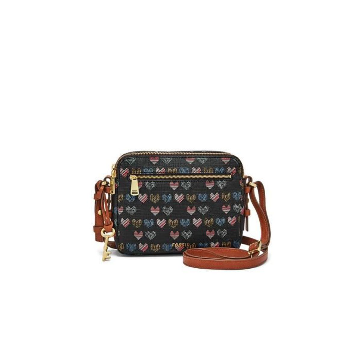 9c77e9dc7d Fossil - SAC PIPER TOASTER (ZB7176) hearts745 taille 15.9 cm - Achat ...