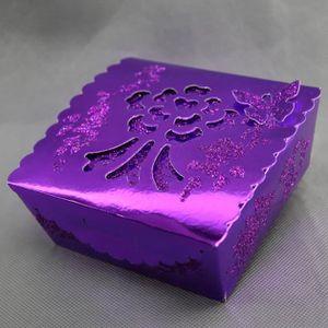 KIT DE DECORATION Lot 50 boîtes à gâteaux mariage baptême motif papi