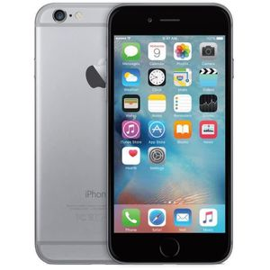 SMARTPHONE Iphone 6 64 GB gris sidéral