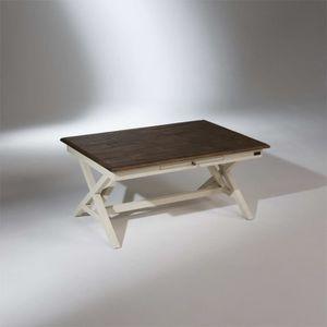 table basse patinee achat vente pas cher. Black Bedroom Furniture Sets. Home Design Ideas