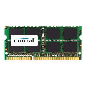 MÉMOIRE RAM CRUCIAL Mémoire PC  Mac - DDR3 - 8GB - 1600 - SODI