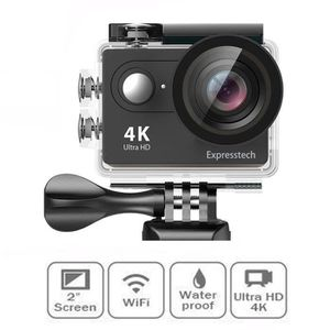 APPAREIL PHOTO COMPACT 4K Caméra de Sport et d'Action Wi-Fi Etanche Appar