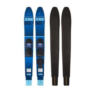 SKI NAUTIQUE - CORDE JOBE Hemi Combo Skis semi parabolique - Bleu