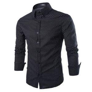 chemise homme a pois achat vente pas cher. Black Bedroom Furniture Sets. Home Design Ideas