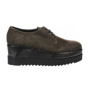 0dc6cdf587997c BASKET Chaussures à lacets femme - MIGLIO - Kaki - AD371