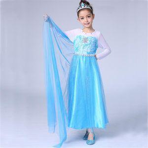 DÉGUISEMENT - PANOPLIE WAIWAIZUI Petites Filles Princesse Elsa Manches Lo