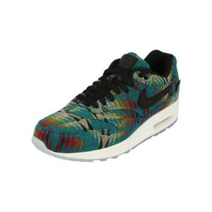 new york c87f8 27db4 CHAUSSURES DE RUNNING Nike Femme Air Max 1 PRM Pendleton Running Trainer