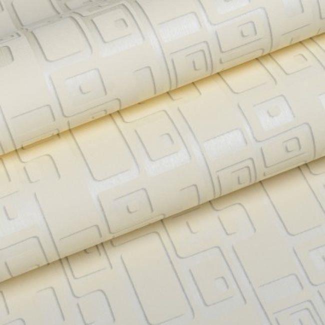 Papier Peint Moderne Geometrique Effet 3d Pour Salon Beige 5 3m2