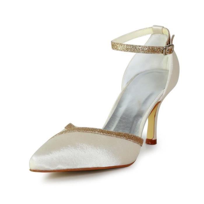 Jia Jia Wedding A319 chaussures de mariée mariage Escarpins pour femme
