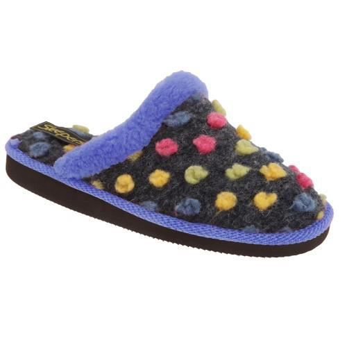 Sleepers Amy - Chaussons mules à pois - Femme I4MCbDpN