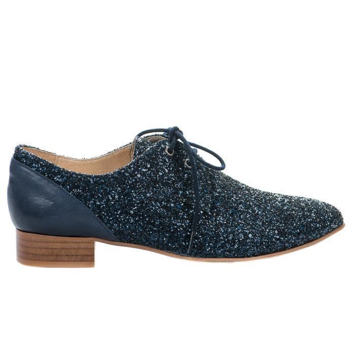 Chaussures à lacet femme - AMBIANCE - Bleu - CODI