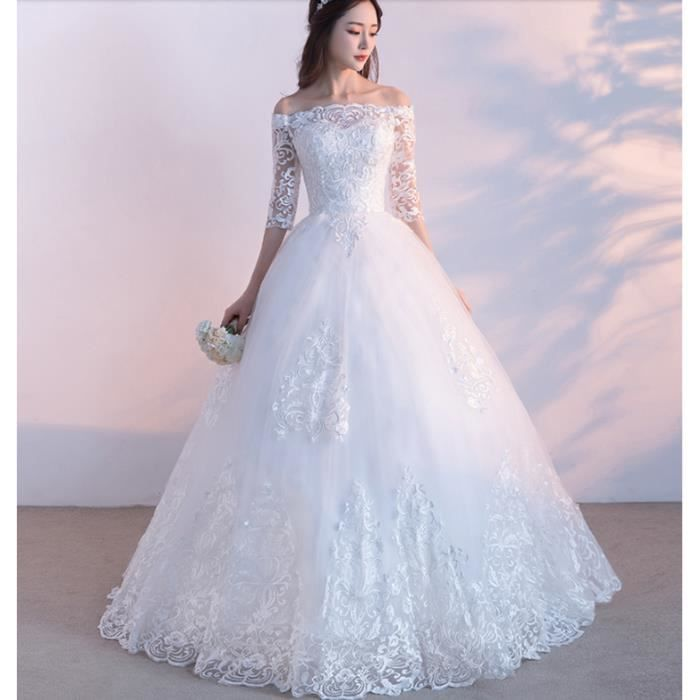 Robe de mariage en hiver