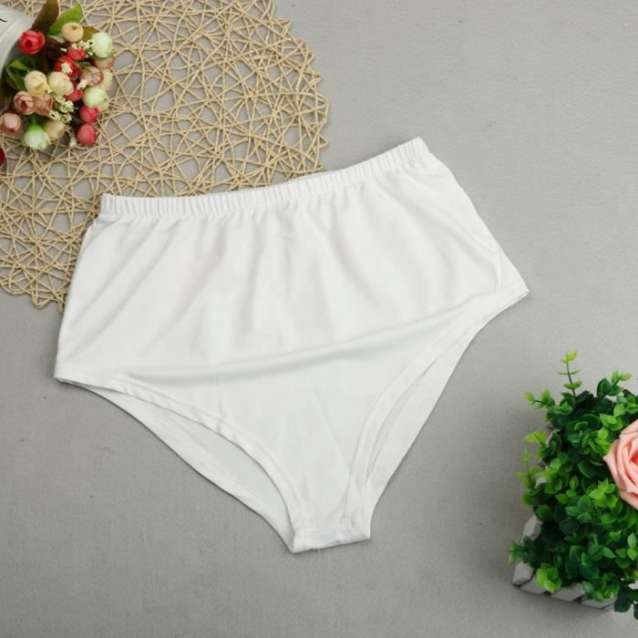 Slip Femmes Culotte vêtements Lingerie Couture blanc Sous Slips Sans L Culottes wwOgBrq