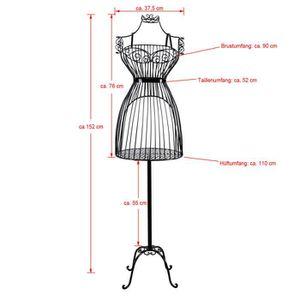 mannequin de couture taille achat vente mannequin de couture taille pas cher soldes d s. Black Bedroom Furniture Sets. Home Design Ideas
