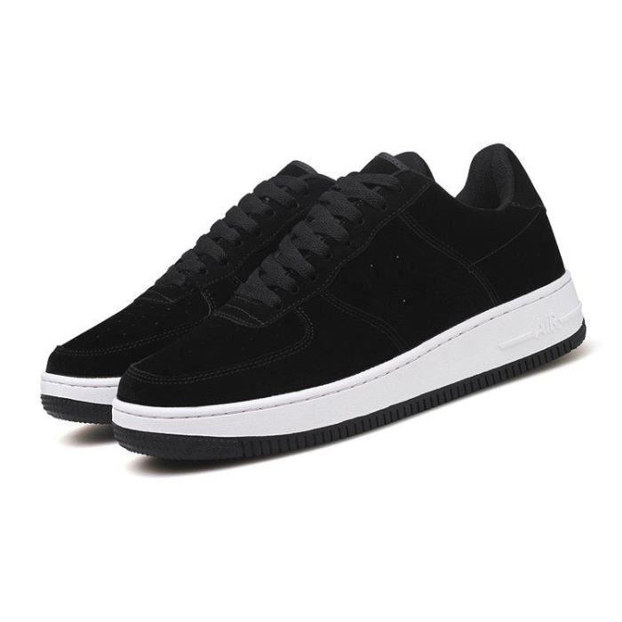 Chaussure De Course éPais Net Tissé Des Souplesse Souple Contre Les Chocs Gym Homme Noir 44 R02828677_5202