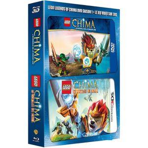 BLU-RAY DESSIN ANIMÉ Blu-Ray 3D LEGO - Les légendes de Chima - Saison 1