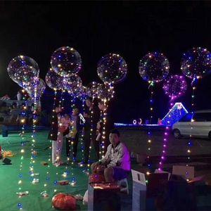 BALLON DÉCORATIF  love@ 20inch lumineux Led Ballon transparent Bubbl