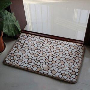 tapis de bain galet achat vente tapis de bain galet pas cher cdiscount. Black Bedroom Furniture Sets. Home Design Ideas
