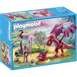 UNIVERS MINIATURE Playmobil 9134 - Fairies - Gardienne des Fées avec