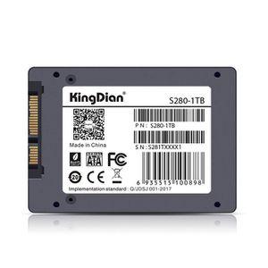 DISQUE DUR SSD KingDian SSD Disque dur HDD 1 To - SATA3 - 2,5 pou