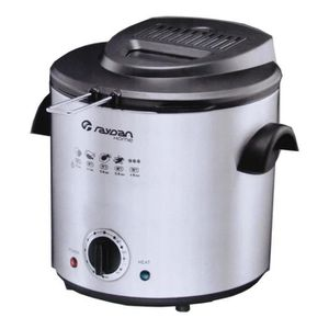 FRITEUSE ELECTRIQUE jpwonline - Friteuse 900 W 1,5 L Raydan Home