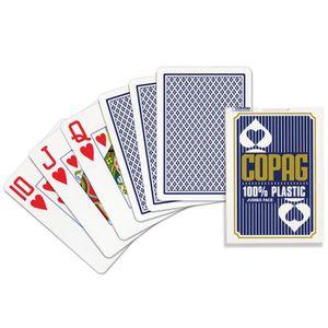 CARTES DE JEU Copag Jeu Poker Jumblo Bleu