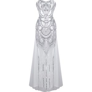 9ccb245384f ROBE DE CÉRÉMONIE Angel-fashions Femmes robe de mariage de paillette