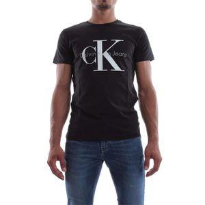 76af7e3968ef1 T-Shirt Calvin Klein Jeans Homme Manche Longue NOIR - Achat   Vente ...