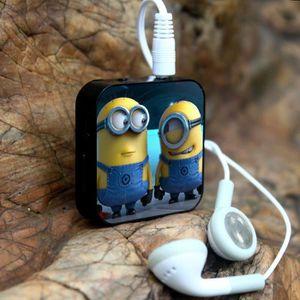 MP3 ENFANT 1PCS Exercice Courir Mini Cartoon lecteur MP3 + US