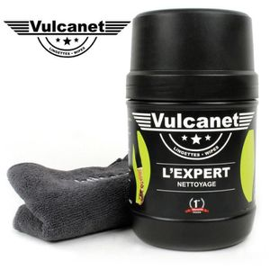 267abead6ac2d6 MATÉRIEL LUSTRAGE Boîte de 60 lingettes VULCANET lavage nettoyant lu ...
