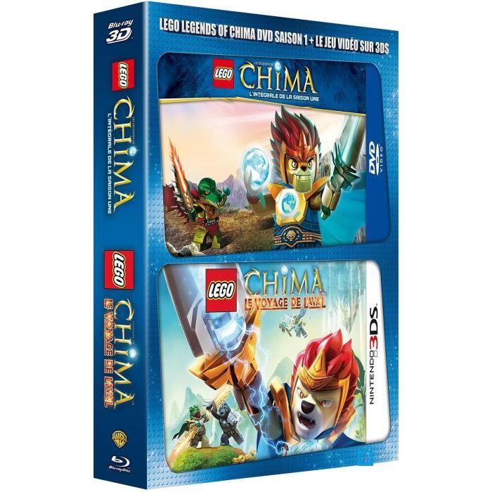 Blu ray 3d lego les l gendes de chima saison 1 jeu - Lego chima saison 2 ...
